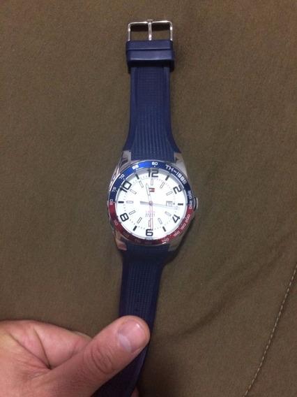Relógio Tommy Hilfiger - Branco E Azul