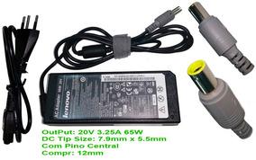 Carregador Notebook Ibm Lenovo Thinkpad 65w 20v 3.25a Ib1510