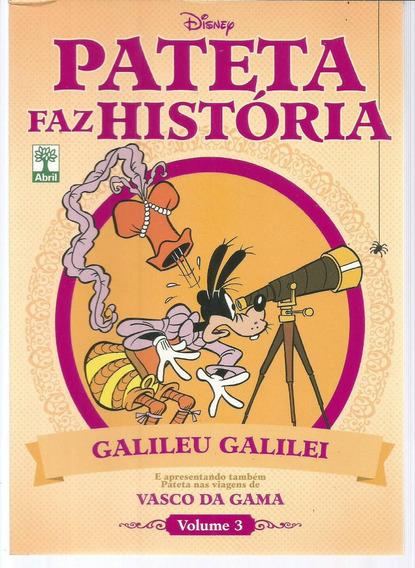 Pateta Faz Historia Vol 03 - Abril 3 - Bonellihq Cx51 E19