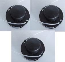 3 Carretel Aparador Grama Gl300 Black Decker Originais