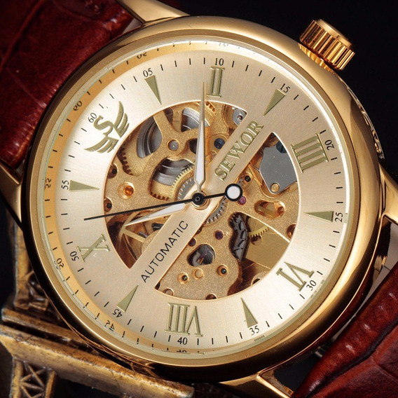 Relógio De Luxo Automático Na Caixa!