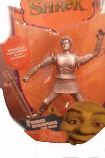 Muñeco Shrek Principe Encantador Plateado Original