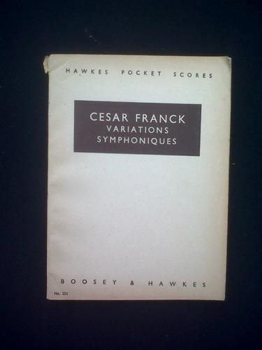 Variaciones Sinfonicas Cesar Franck