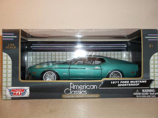 Ford Mustang Sportsroof 1971 Motor Max American Classic 1/24