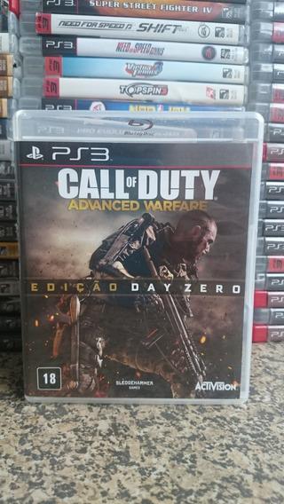 Call Of Duty Advanced Warfare Day Zero Ps3-frete R$10