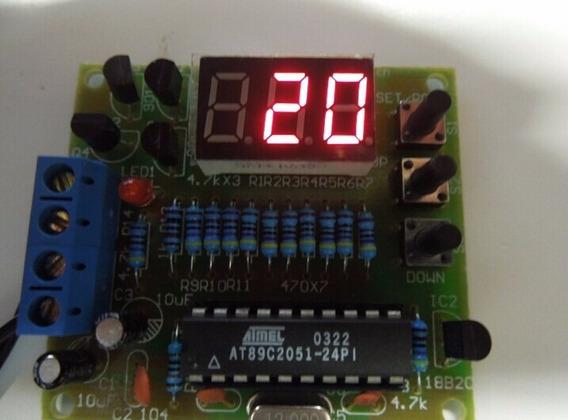 Kit Para Montagem Termometro Digital Sensor Ds18b20