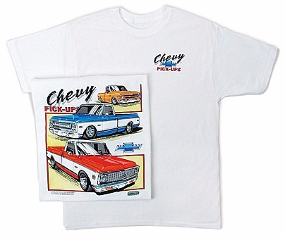 Remera Chevrolet Pick Up 67 68 69 70 72.imp.usa Maxspeedshop
