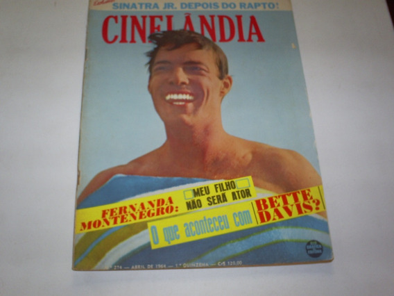 Revista Cinelandia Nº 274 04/64 Richard Chamberlain