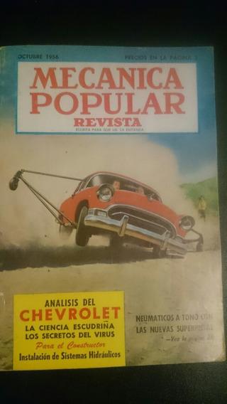 Revista Antigua Mecánica Popular Octubre 1956