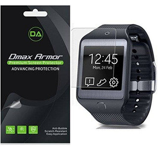 [3-pack] Dmax Armor- Samsung Galaxy Gear 2 Pantalla Neo Prot