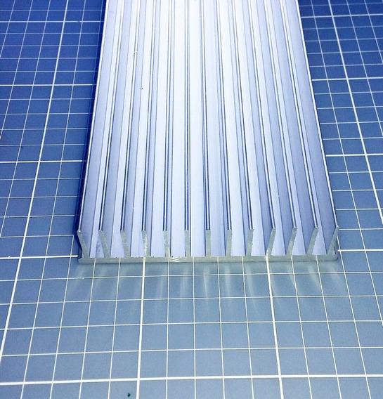 Dissipador De Calor Alumínio Cortado Sob Medida 10,4 X 10cm