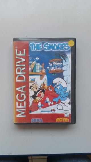 The Smurfs Jogo Paralelo Para Mega Drive