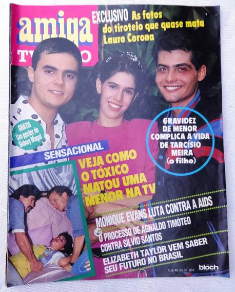 Amiga 892: Amigão - Taiguara - Silvio Santos - Lauro Corona