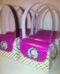 511fa7349 Carteritas De Marsha Y El Oso Para Nenas - Souvenirs para Cumpleaños ...