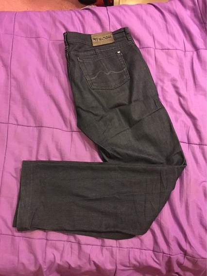 Pantalón Jean Scombro Deluxe Azul 32 Elastizado Recto