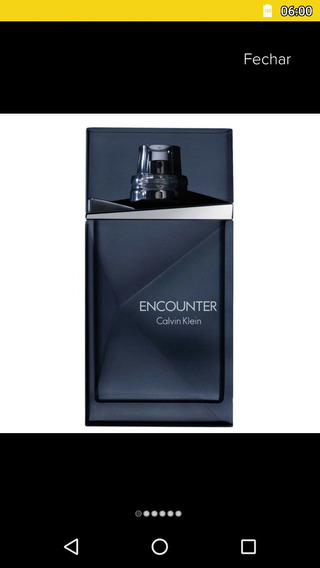 Perfume Calvin Klein Encounter Masculino-50ml