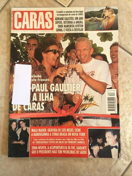 Revista Caras 62 Jean Paul Gaultier Adriane Galisteu D521