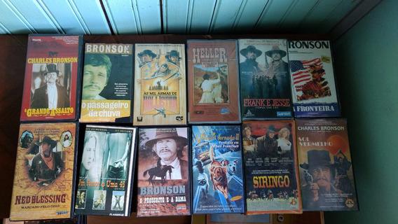 Coleção De Filmes Americanos Em Vídeo Cassete (12 Filmes)