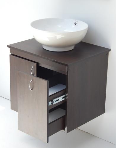 Mueble Modular Base En Melamina Para Baño Mod. Mb-5
