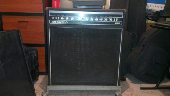 Amplificador Marca Acoustic Model:135 Para Guitarra.!leer!!
