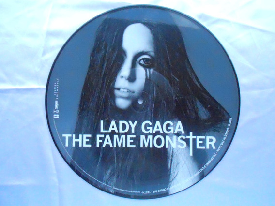Lp Picture Disc Lady Gaga- Lady Gaga The Fame Monster