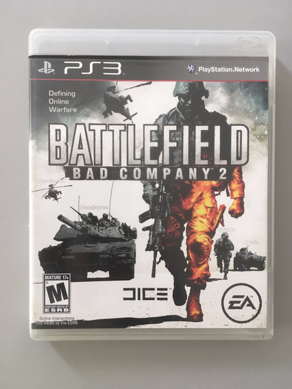 Battlefield Bad Company 2 Playstation3 Mídia Física