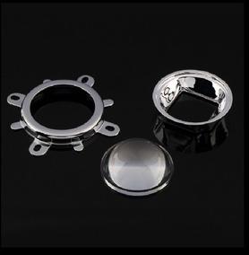 02 Lente Condensadora 45 + 80 Mm, Projetor Refletor 100w