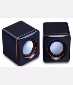 Caixa De Som Portátil Usb P2 Pc E Celular