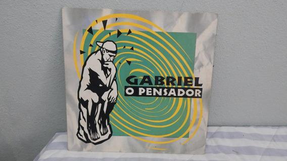 Lp Vinil Gabriel O Pensador - Excelente Estado Capa E Disco