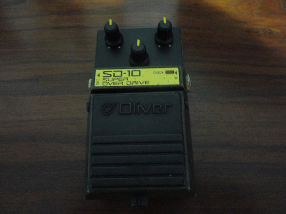 Pedal Oliver Super Overdrive Sd-10