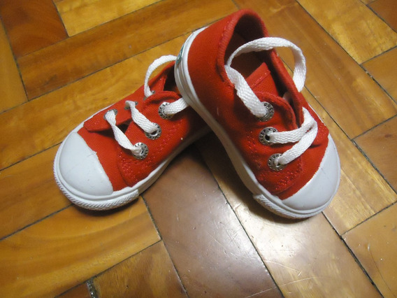 Zapatillas Greep Infantiles De Lona Talle 18