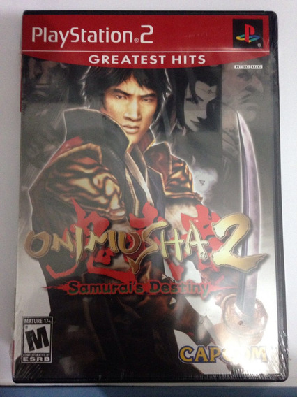 Onimusha 2 Original Lacrado Playstation2 Play Ps2