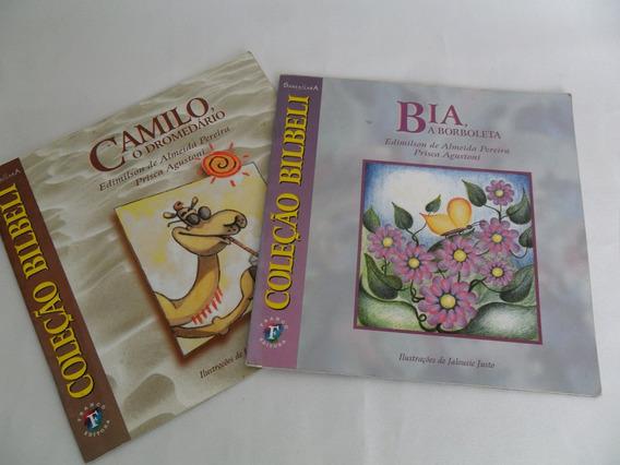 Livro Coleção Bilbeli Lote Com 2 Livros A Borboleta E Camilo