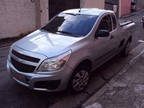 Gm - Chevrolet Montana Ls 1.4 Flex 2011 Prata Completa!!!