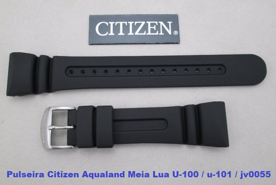 Pulseira Citizen Aqualand Meia Lua U-100 / U-101 / Jv0055