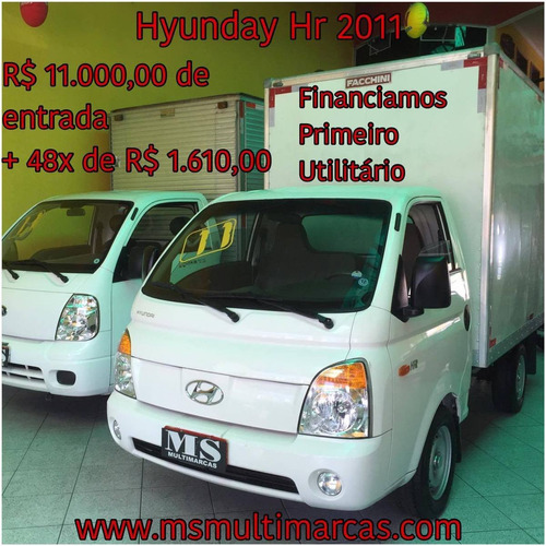 Hyundai Hr 2.5 Bau 2011 - Kia Bongo / Carroc. / Refrigerada
