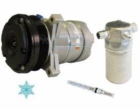 Compressor Gm Silverado 6cc + Filtro Acumulador + Valvula