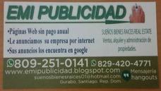 Emi Publicidad Anuncios Para Negocios Diseño D Página Web Rd