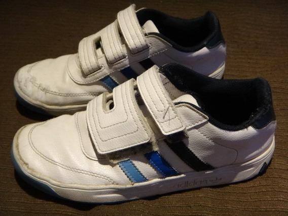 Zapatillas adidas Cuero Niño Originales T32 Usadas (quilmes)