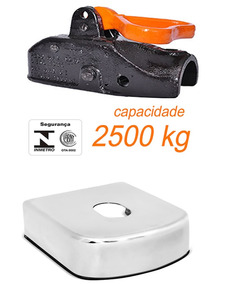 Kit Munheca Ferro Fundido Automatica Travante Capa Aço Inox