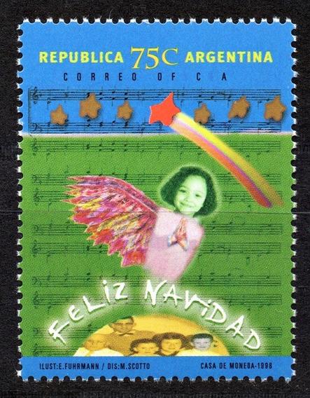 Argentina 1998 Gj 2923** Mint Navidad A