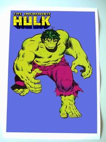 Hulk Poster Desenho Sal Buscema
