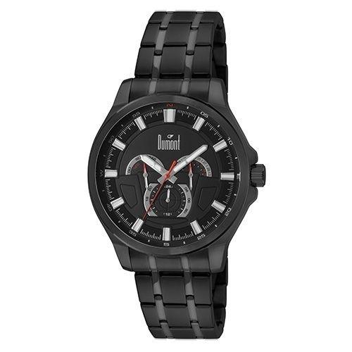 Dumont - Relógio Masculino Analógico Preto