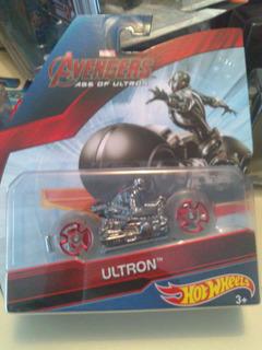 Hot Wheels De Coleccion Moto Avengers Ultron Bvf