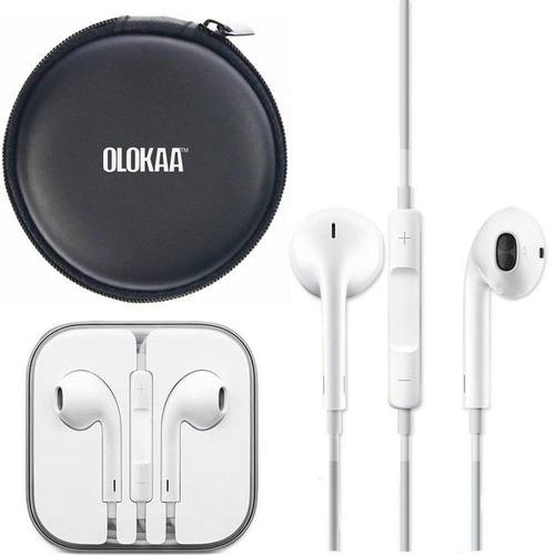 8a1b5c0b03f Audifonos Originales Earpods Apple iPhone 6-5g-5-4s-4 - iPad - S/ 89,99 en  Mercado Libre