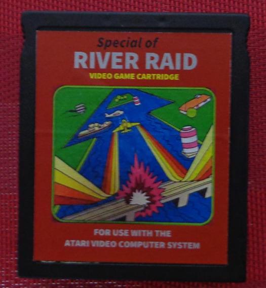 1 Cartucho 4 Jogos Para Atari 2600: Variações Do River Raid