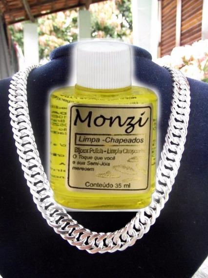 Limpa Joias Prata Ouro Folheados Chapeado Monzi 35ml