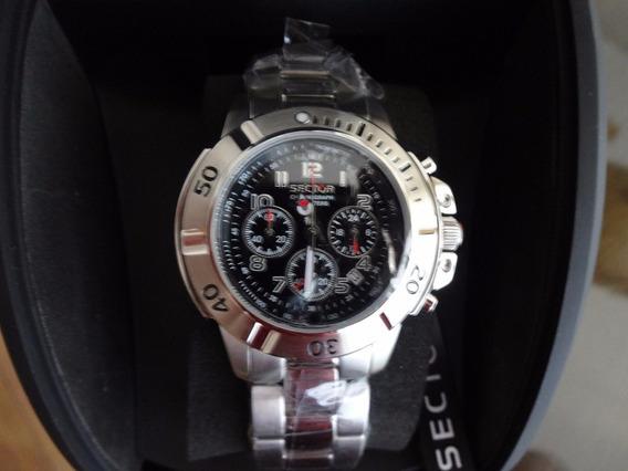 Relógio Sector Original 240 - Fundo Branco Ou Preto