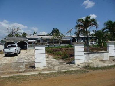 Casa Solar En La Autopista Duarte 4 Habs. 3595m2 De Solar