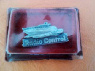 Pin Coleccionable Revista Radio Control Antiguo Dificil